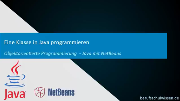 Klasse programmieren